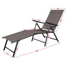 pool chair dimensions