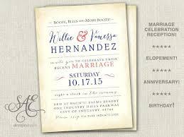 elopement invitations elopement announcement cards rustic elopement announcement card
