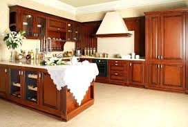 How To Clean Cherry Kitchen Cabinets by Best Way To Clean Wood Cabinets In Kitchen S Steam Clean Wood