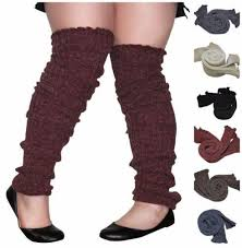 s knit boots size 12 plus size leg warmers slouch cable knit toeless wide