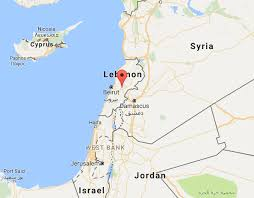 lebanon on the map 30 important facts about lebanon the fact file