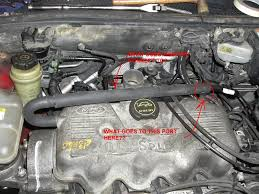 spi engine vacuum and coolant line questions ford focus forum