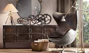 steunk house interior bringing a steunk furniture style for office modern home