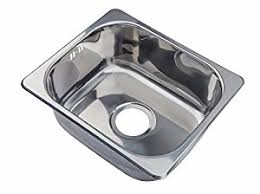 Small Steel Inset Single Bowl Kitchen Sink A Mr Amazoncouk - Smallest kitchen sink