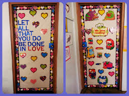 Valentine Decorations Ideas Pinterest by Christmas Character Door Decorations Idea Love Reading