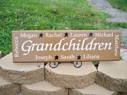 grandmother gift personalized grandmother gift personalized grandchildren sign p