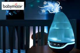 veilleuse pour chambre humidificateur chambre bébé hygro avec veilleuse babymoov