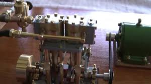 home made steam powered generator plant
