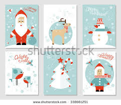 christmas tree vector cards download free vector art stock
