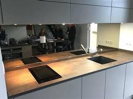 cr ence en miroir pour cuisine modele credence cuisine plaque modele carrelage mural cuisine
