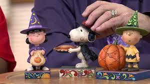 jim shore halloween figurines jim shore peanuts