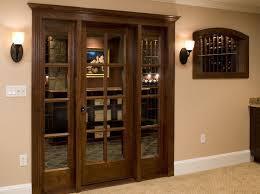 wine cellar door options and accessories