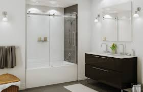 Sliding Bathtub Shower Doors Halo Sliding Tub Door Maax For Second Floor Tub Shower Door