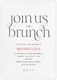 brunch invitations s day invitations online at paperless post