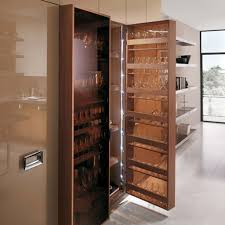 kitchen storage space savers white ceramic full area floor wooden