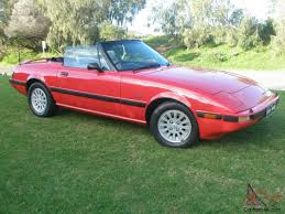 mazda 3 convertible mazda rx7 series 3 1985 convertible very rare immaculate only