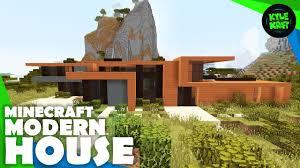 Modern House Minecraft Minecraft Savannah Modern House Building Timelapse Youtube