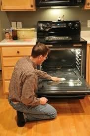 clean oven glass door cleaning glass oven doors thriftyfun
