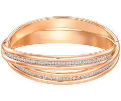 bracelet rose metal images Further bangle white rose gold plating usa swarovski online shop jpg