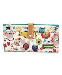 bloom wallet bloom light blue friends travel wallet zulily