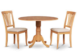 Small Dining Room Table And Chairs Amazon Com East West Furniture Dlav3 Oak W 3 Piece Kitchen Nook