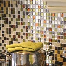 kitchen stick on backsplash peel and stick backsplash tile you ll