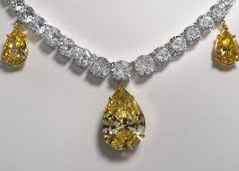 yellow diamond necklace images Yellow diamond necklace jpg