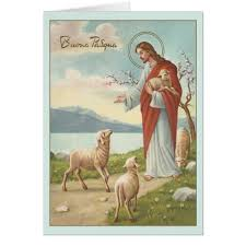 easter greeting cards religious vintage italian religious easter greeting card zazzle