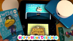how to use amiibo cards and transfer in animal crossing happy