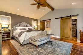 zebra print ceiling fan closet doors bedroom traditional with ceiling beam sliding barn