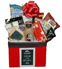 gift baskets for college students keep calm and carry on college student care package colorado