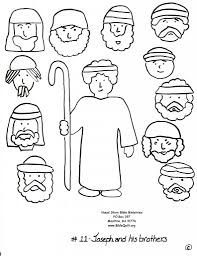 joseph and his brothers coloring page funycoloring