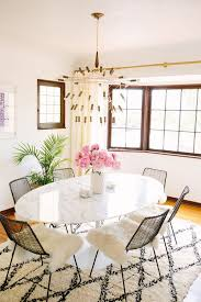 enchanting affordable dining room sets white marble ellipse table