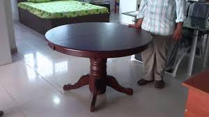 astro dining table demonstration from godrej interio jayalaxmi