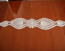 Crochet Table Cloth Crochet Table Runner Etsy