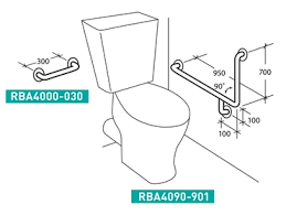 Commercial Handrail Height Code Disabled And Accessible Commercial Bathroom Accessories From Rba