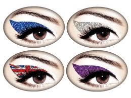 eyeliner tattoo violent eyes lush fab glam blogazine beauty buzz temporary eyeliner appliques