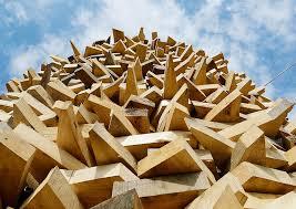 wooden sculpture inhabitat green design innovation