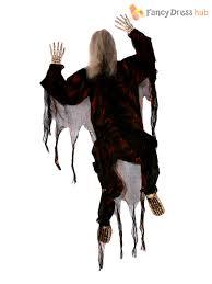 5 ft climbing dead zombie figure halloween hanging shop display