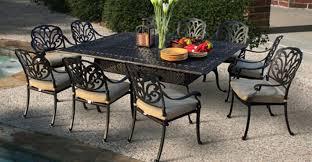 cast aluminum dining table perfect aluminum patio table san remo cast aluminum patio furniture