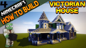 minecraft victorian house how to build e04 youtube