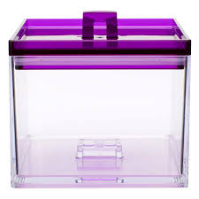 stackable kitchen canister for sale clear u0026 grape 1qt zak
