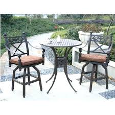 Agio Patio Set Balcony Height Patio Dining Furniture Set Balcony Height Outdoor