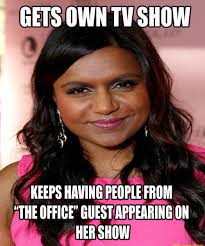 Mindy Meme - when i saw bj novak on the last episode of the mindy project imgur
