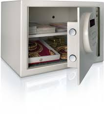 Godrej Kitchen Interiors Godrej Taurus Electronic Safe Ivory Powder Coated Finish