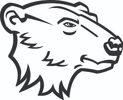 bear logo clipart 43