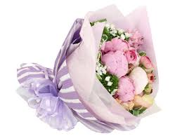 Peony Bouquet Florist Flower Bouquet Peony Bouquet B2632 Give Gift