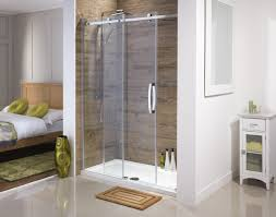 Sliding Glass Shower Doors Over Tub by Orca Frameless Sliding Shower Doors From Serene Bathrooms