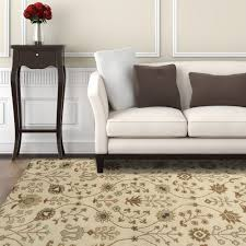 home decorators collection provencial cream wool 6 ft x 9 ft