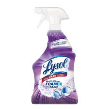 best bathroom cleaner for mold and mildew lysol mold mildew blaster w bleach bathroom cleaner spray